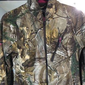 Real Tree Camo Jacket Rain coat Windbreaker